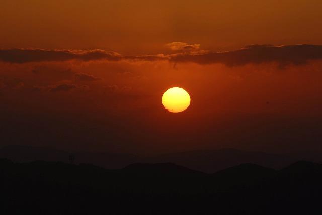 天神山の日の出5