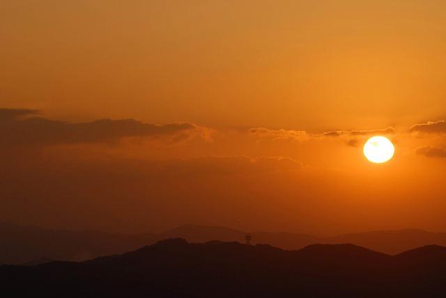 天神山の日の出6