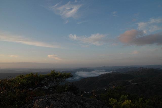天神山の日の出9