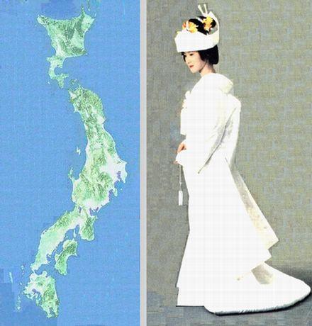 日本花嫁図