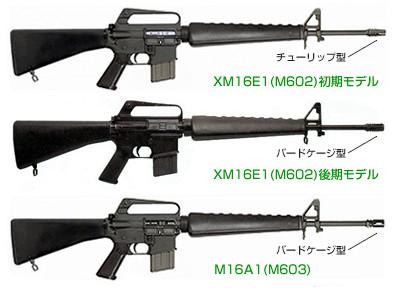 XM16E1 / M16A1