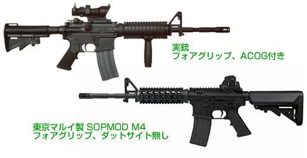 M4カービン (SOPMOD)