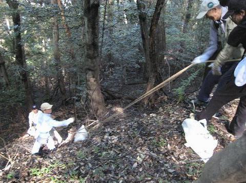 ゴミ回収 064