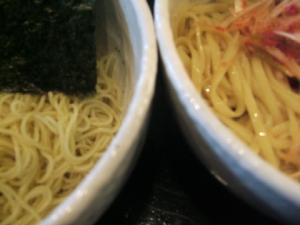○節とんや・つけ麺、太麺&細麺