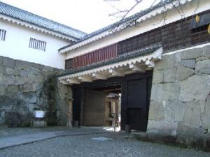 鶴ヶ城(会津若松城)・鉄門(くろがねもん)