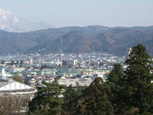 鶴ヶ城(会津若松城)・天守閣からの眺め④