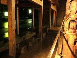 遠刈田温泉・神の湯、足湯場