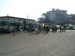 松島、かき小屋⑬
