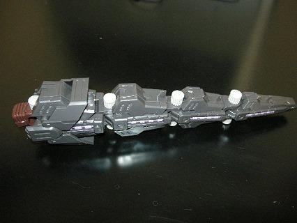 HMMジェノザウラーの尾部