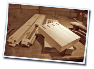 小引き出し付きローテーブル製作 (3)