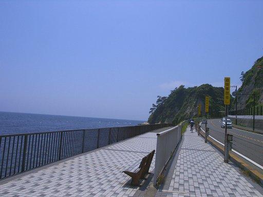 稲村ケ崎へ向かう