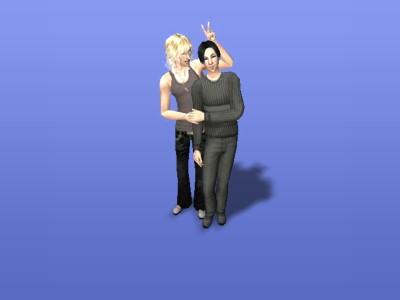 Sims2で春抱き