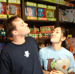 A2 store Sun-Min Kim and David Horvath