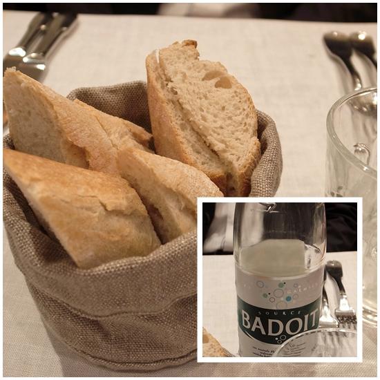 パンと炭酸水