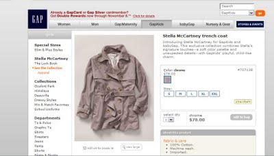 stella trenchi coat