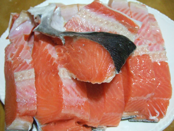 銀鮭切り身