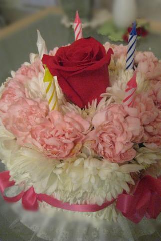 花ケーキ2