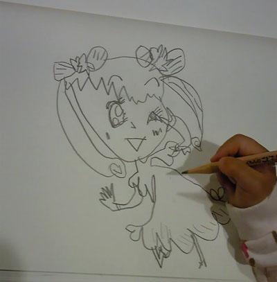鎌倉で書いた絵2011