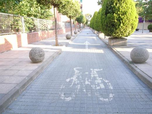 バルセロナ自転車専用道路