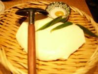 銀平ざる豆腐
