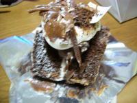 川端風太朗チョコケーキ