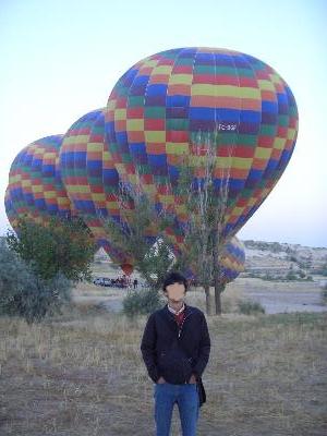 気球に乗ったぜ!