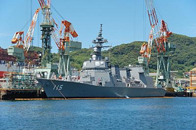 護衛艦あきづき01