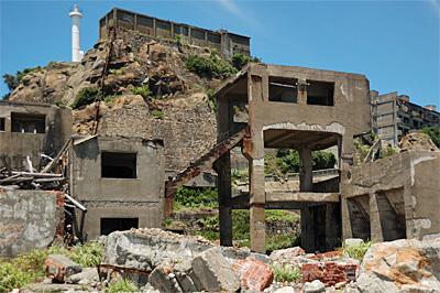 端島、鉱業所側12