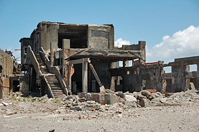 端島、鉱業所側13