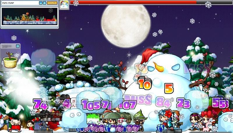 雪だるま戦闘(最大?)