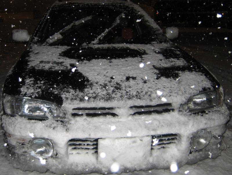 クルマと雪