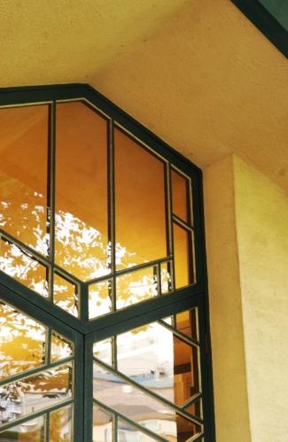 自由学園の窓