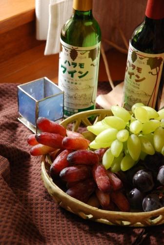葡萄とワイン