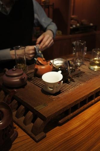 小梅茶荘で