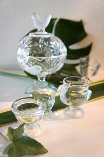 美鳥花コレクションのガラス器たち