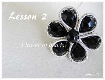 flower of beads