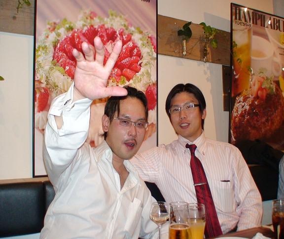 植松勉さんと鈴木徹さんの講演会