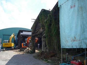 田川 建物解体