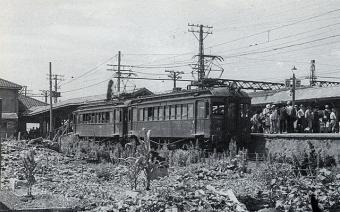 京都線止電車