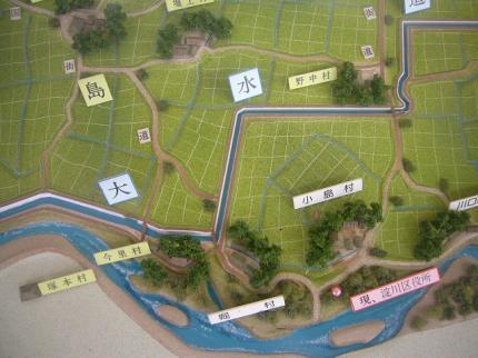 大水道模型