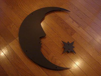 月と星妻飾り