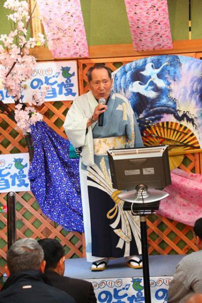 43 第02回元気わくわくみのり~や のど自慢カラオケ 葵かを里新曲「桂川」 発表コンサート