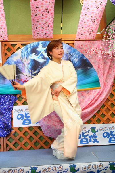 65 第02回元気わくわくみのり~や のど自慢カラオケ 葵かを里新曲「桂川」 発表コンサート