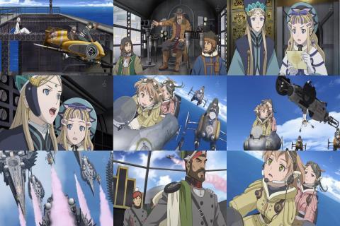 ラストエグザイル―銀翼のファム― 第1話