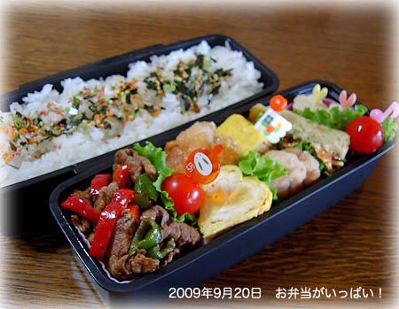 090920お弁当1