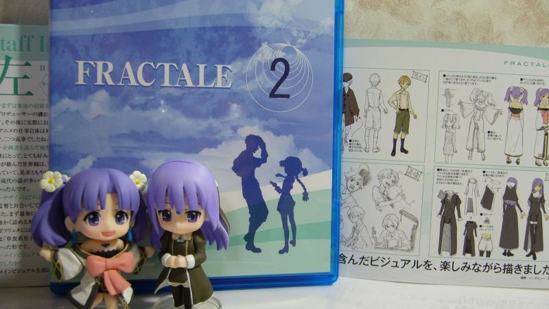 「フラクタル」BD第2巻のブックレットインタビューは左さん!