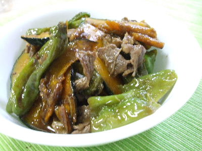 210812夏野菜のバルサミコマリネ1