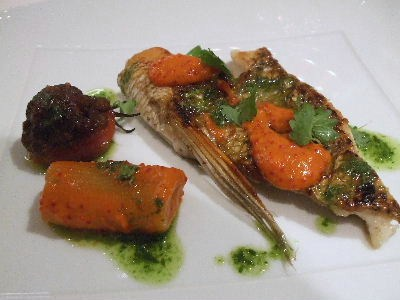 210821ラベカス07(魚)鯛のポワレ2