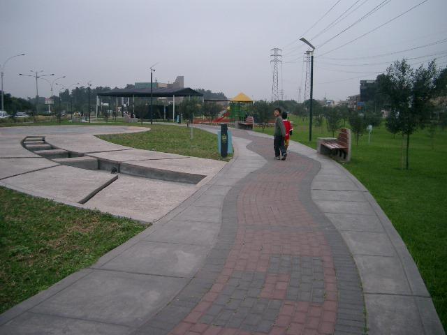 サンボルハの公園
