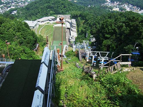 大倉山 ジャンプ台 スタート地点 リフト